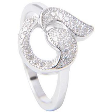 Delicate 925 Sterling Silver Plated  Casual Ring