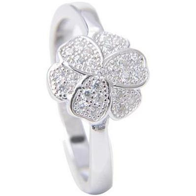 Look Like Flower 925 Sterling Silver Plated Ring