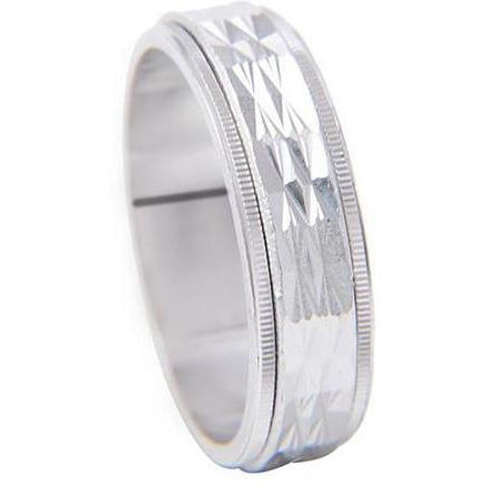 925 Sterling Silver Plated Band For Womens