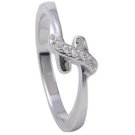 Delicate Ring For Girls 925 Sterling Silver Plated