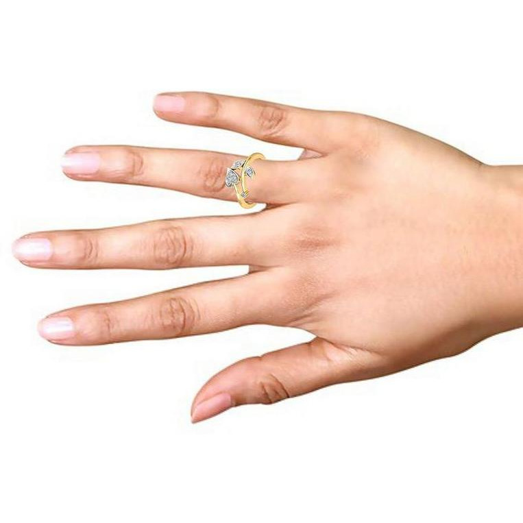 Delicate Silver Ring For Women's