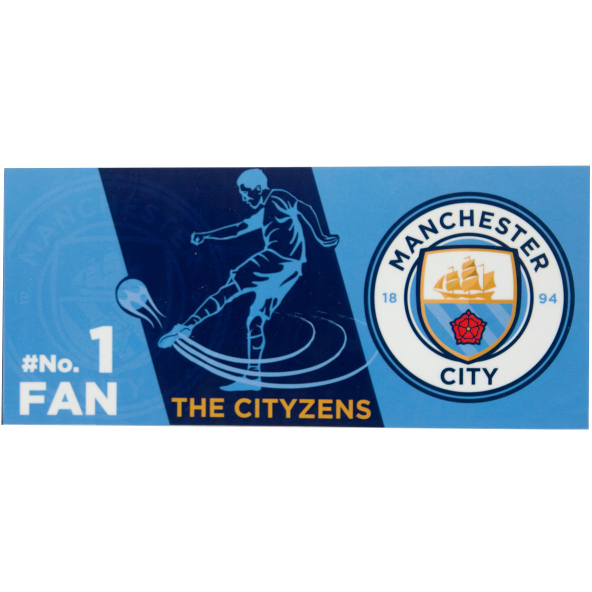 Manchester City F.C. Bumper Sticker BS