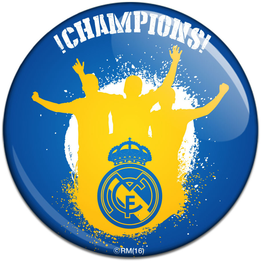 Real Madrid C.F. Button Badge CHM
