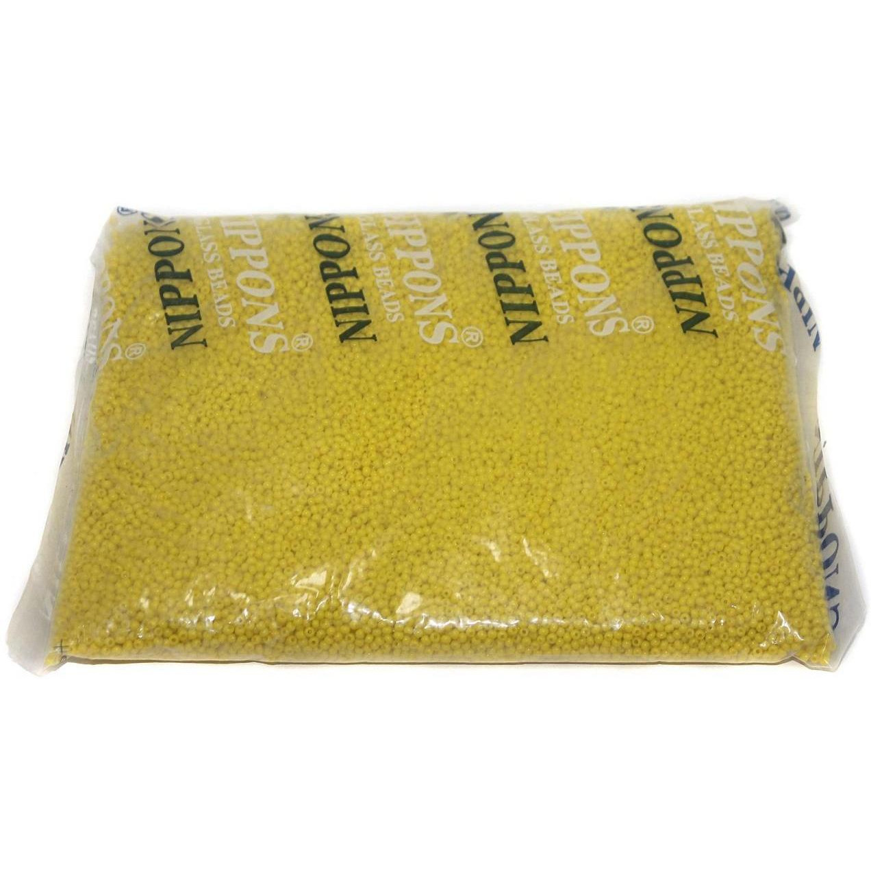 Beadsnfashion Jewellery, Embroidery & Crafts Nippon Seed Beads Yellow Opaque 11/0, Pack OF 500 Gm