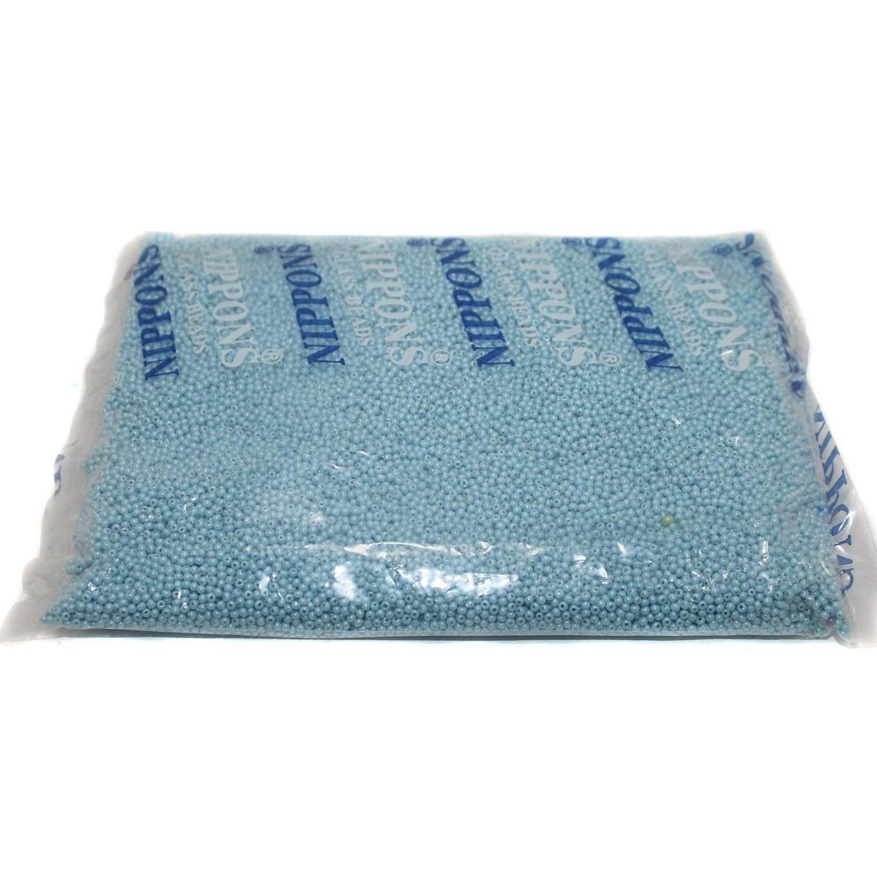 Beadsnfashion Jewellery, Embroidery & Crafts Nippon Seed Beads Sky Blue Opaque Luster 11/0, Pack OF 500 Gm