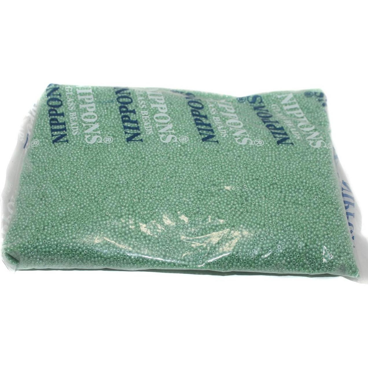 Beadsnfashion Jewellery, Embroidery & Crafts Nippon Seed Beads Ligh Green Opaque Luster 11/0, Pack OF 500 Gm