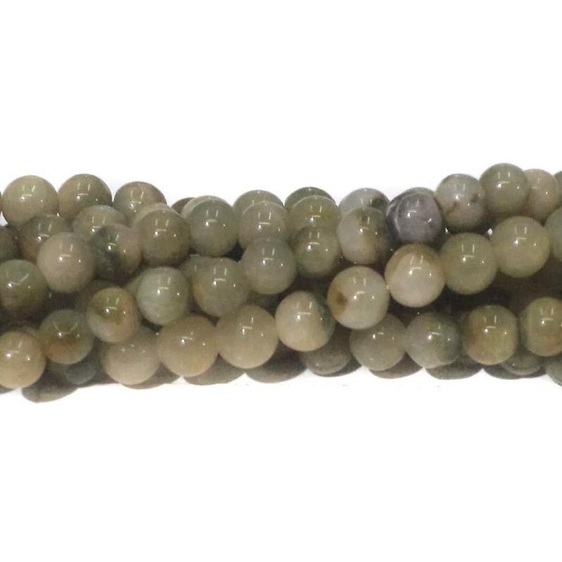 Beadsnfashion Jewellery making Cats Eye stone beads, size 7mm, pack of 2 strings