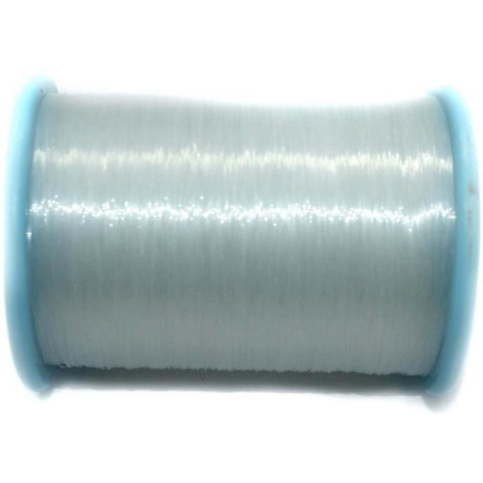 Beadsnfashion Jewellery Making Nylon Thread 500 Mtrs Spool, Size 0.35 mm