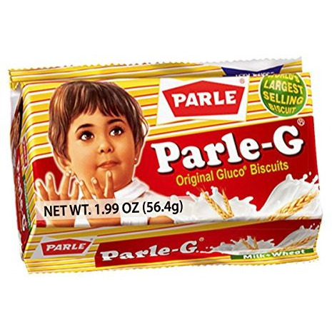 Parle-G Original Gluco Biscuits (1.99 oz)